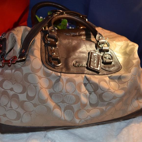 Coach Handbags - Large Brown Coach Satchel